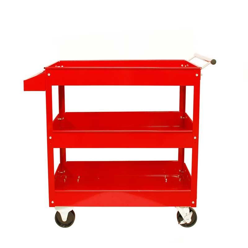 新作製品 世界最高品質人気 3段ツールカート 赤 TR-300TC 引き出物