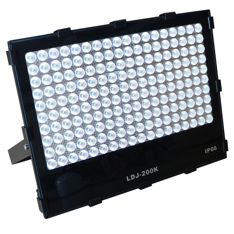 LED投光器 200W 28000LM 軽量・中距離照射・40度