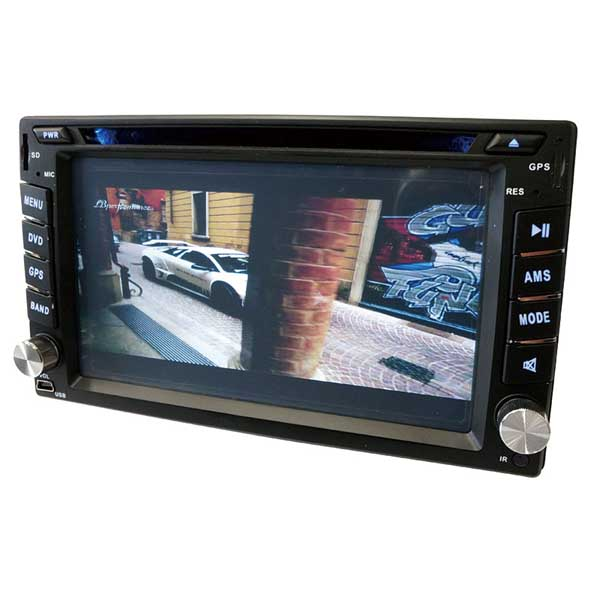 2DIN Bluetooth対応 車載用DVDプレーヤー D6000