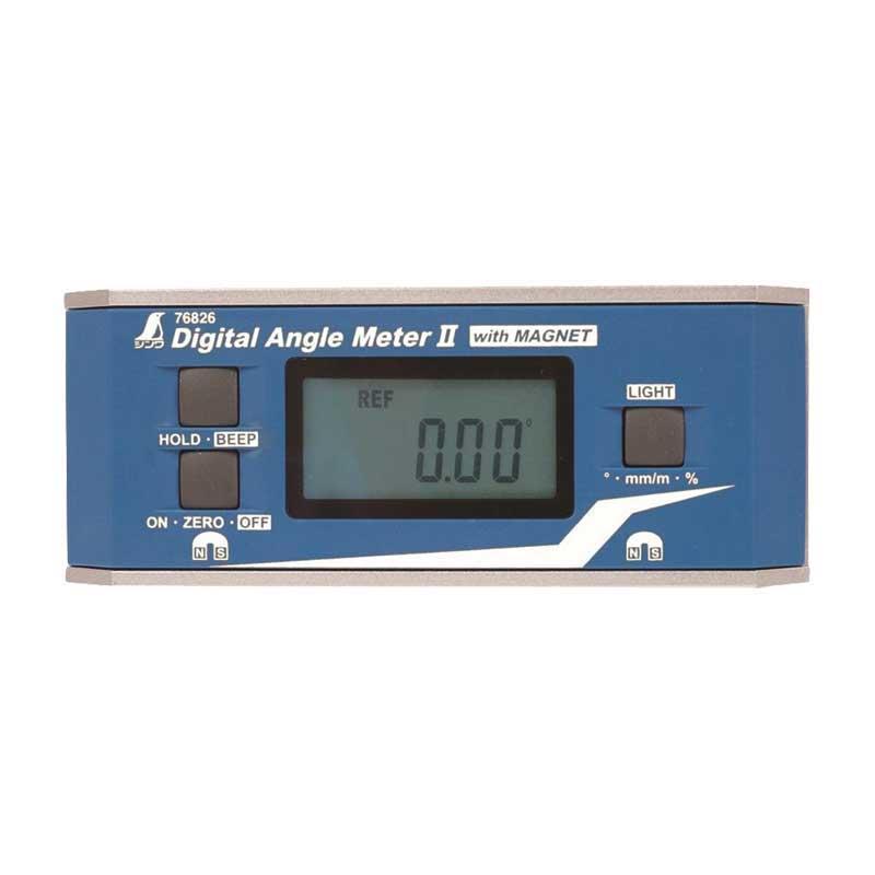 【シンワ】デジタルアングルメーター II 防塵防水 マグネット付 76826