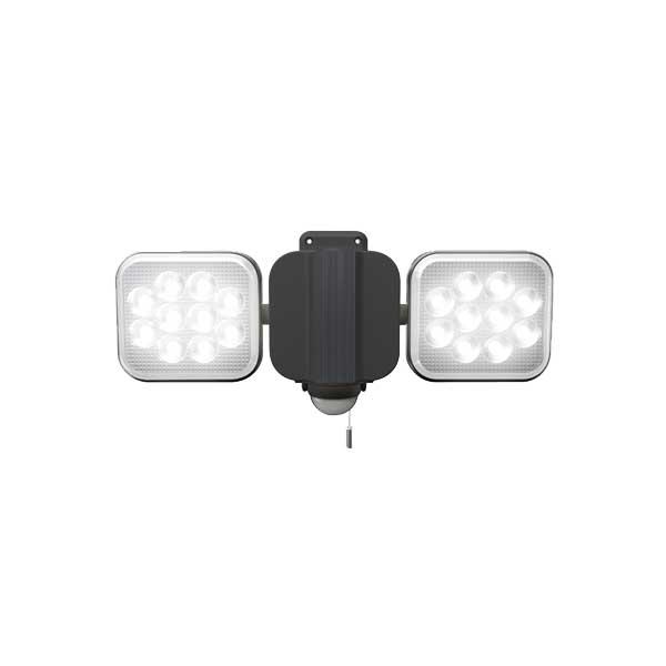 【RITEX】12W×2灯フリーアーム式LEDセンサーライト CAC26