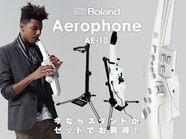 【数量限定スタンド&交換用マウスピース付き!】 Roland ローランド Aerophone エアロフォン AE-10 【送料無料】【p10】