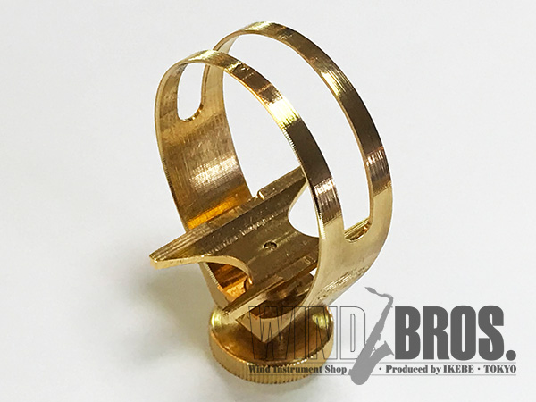 【新製品】 アルトサックス用リガチャー CG Mouthpiece (シージー・マウスピース)GALILEO (ガリレオ)Brass-GP (IV)