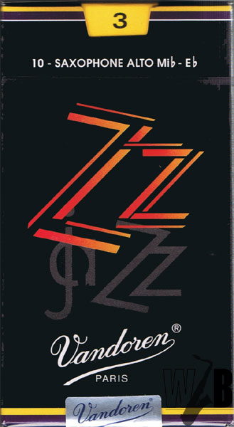 jaZZyに吹こう 直送商品 ジャズ向けのブ厚いサウンドならコレだ アルトサックス用リード バンドレン ZZ ジージー 倉