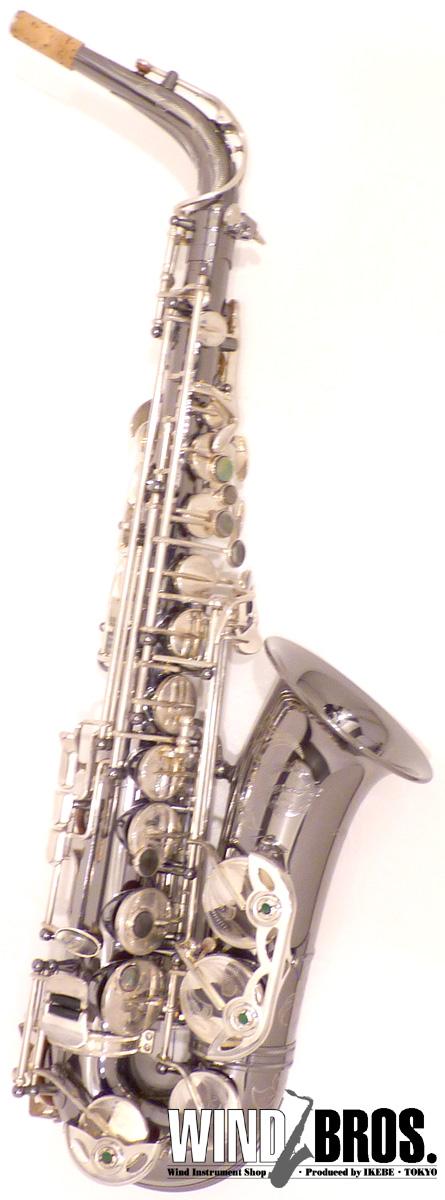 アルトサックス Cadeson(カドソン) A-900BN W/SE Hi-F# Less #272xx0 【used_サックス】【used_管楽器】【中古】