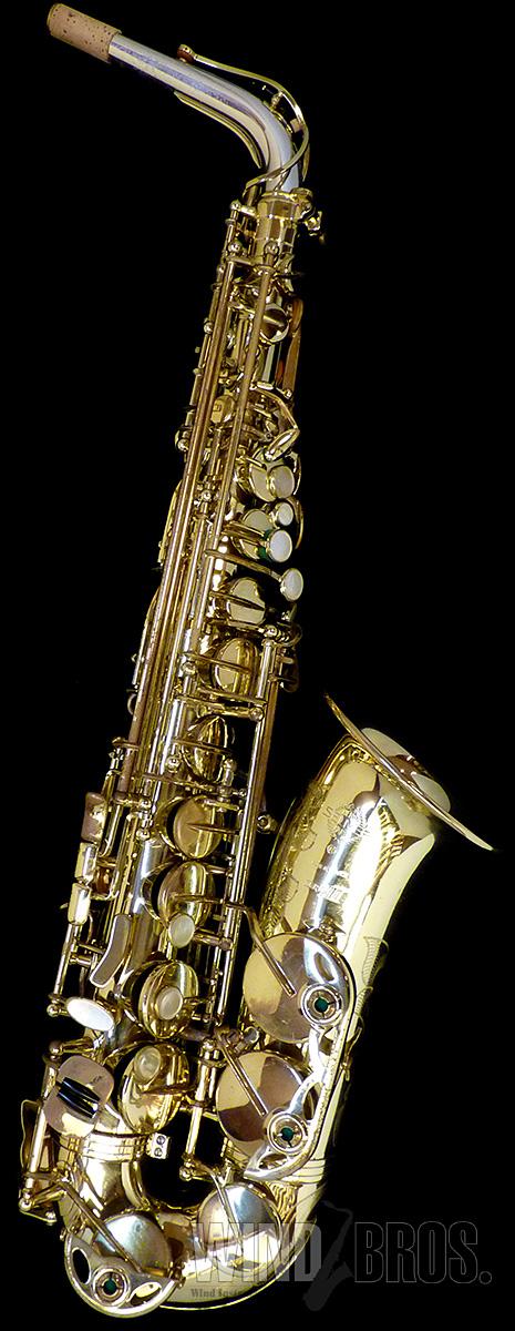 アルトサックス H.Selmer(セルマー) SERIEIII w/e GL Starling Silver Neck 彫刻有 #616xx7 【used_サックス】【used_管楽器】【中古】