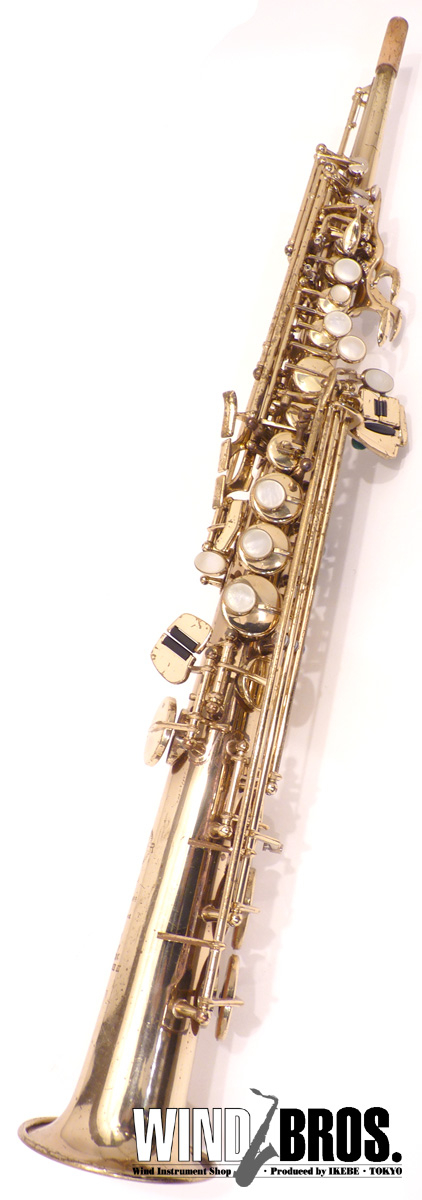 【used_サックス】【used_管楽器】【中古】ソプラノサックス H.Selmer(セルマー) SA-80 w/o GL 彫刻無し #442xx8
