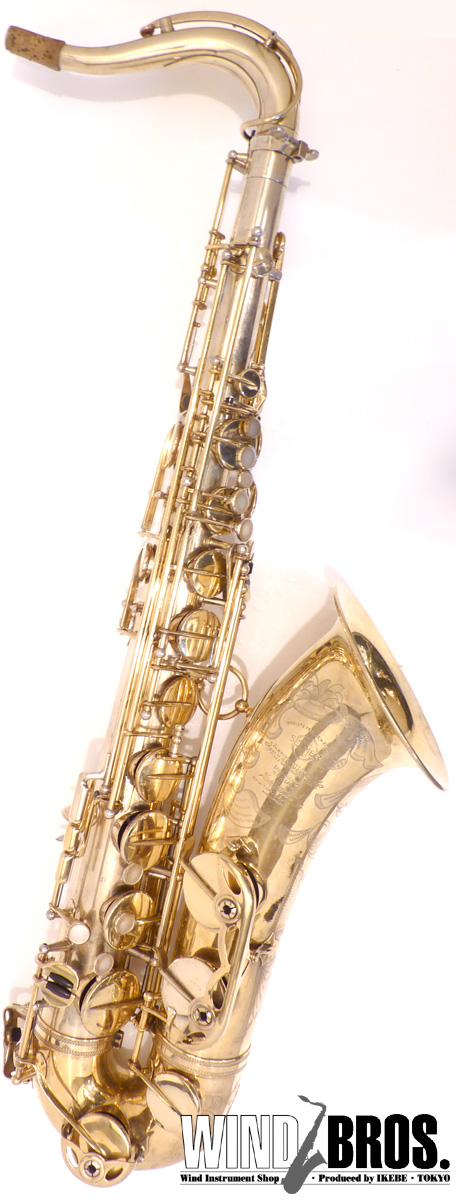 '52 Henri Selmer (フラセル) Super (Balanced) Action #49xx4 Original Gold Plated【中古】