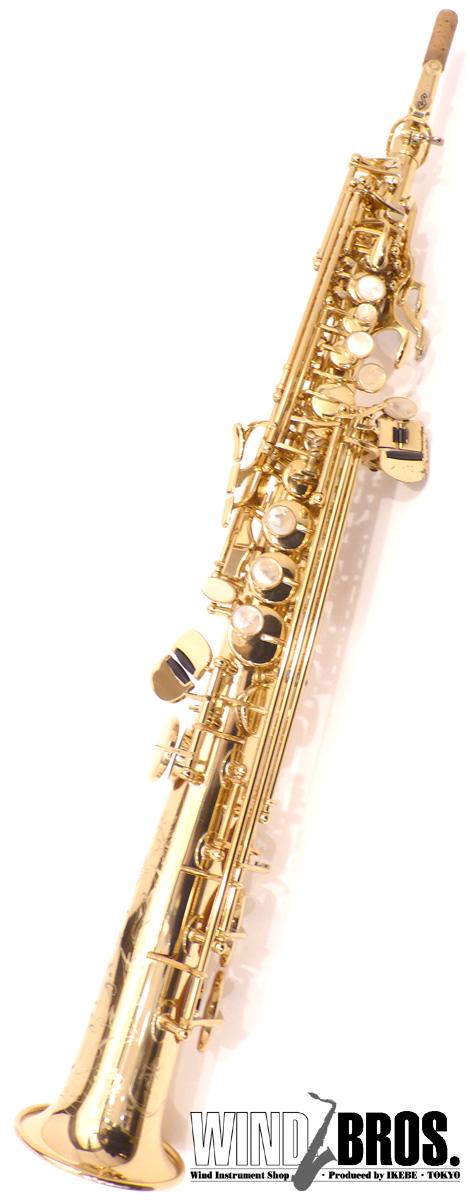 ソプラノサックス H.Selmer(セルマー) SERIE III Jubilee w/e GL 彫刻有 #752xx3 【used_サックス】【used_管楽器】【中古】