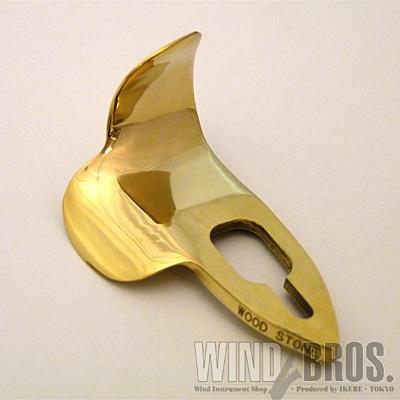 いつでも送料無料 どんな指の角度でもフィット Wood Stone ウッドストーン BRASS IIサムフック Thumb Hook 市場