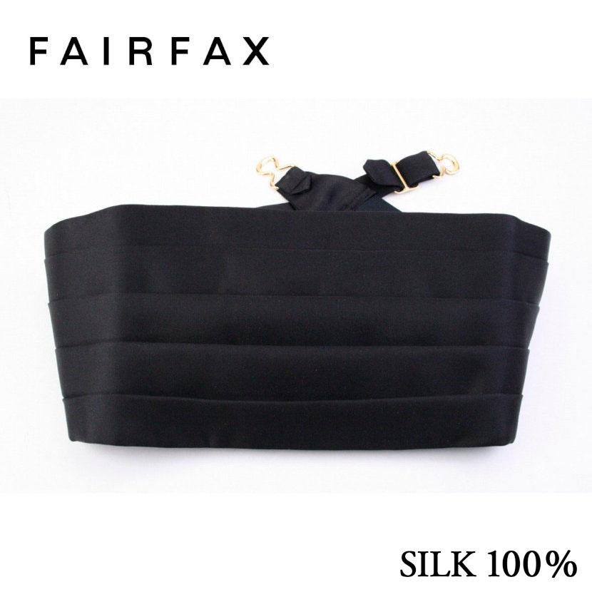 (フェアファクス) FAIRFAX ブラック カマーバンド ( 送料無料 )