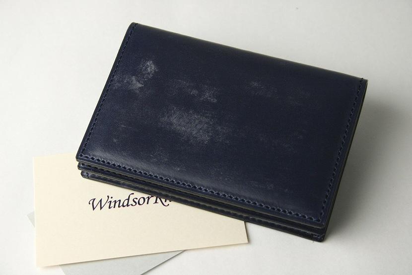 (ファイブウッズ) FIVE WOODS BASICS BRIDLE ベーシックブライドル カードケース 「CARDCASE」 ネイビー 日本製 ブライドルレザー 本革 メンズ 名刺入れ 43012( 送料無料 )