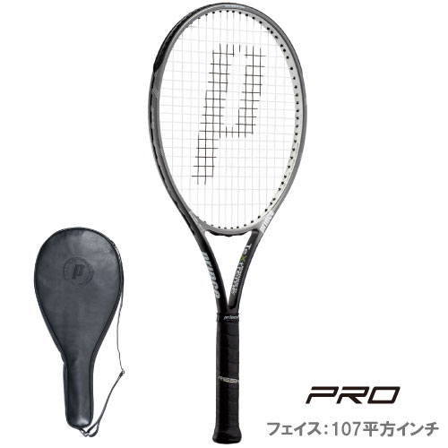 プリンス[prince]テニスラケット EMBLEM 107 XR(エンブレム107XR)(7TJ015)※スマートテニスセンサー対応品