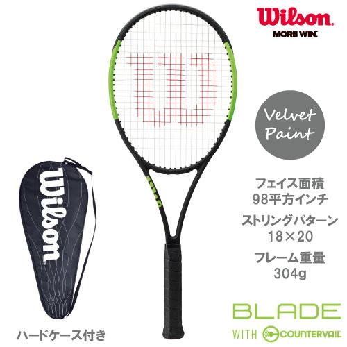超歓迎された ウイルソン[Wilson]テニスラケット BLADE 98 18×20 COUNTERVAIL(ブレード98 98 18×20)(WRT733110)※スマートテニスセンサー対応品, 大里町:c4bd4983 --- fabricadecultura.org.br
