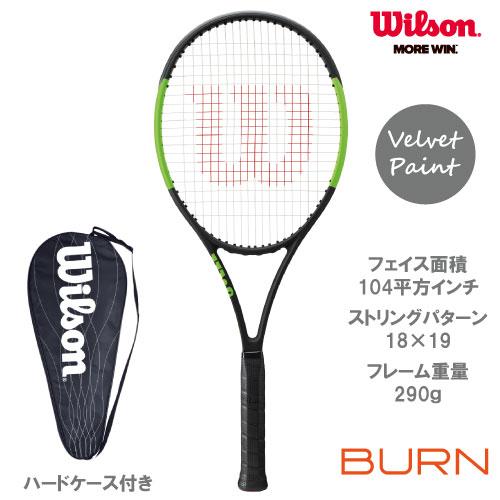 ウイルソン [wilson] 硬式ラケット BLADE 104(WRT733310)※スマートテニスセンサー対応品