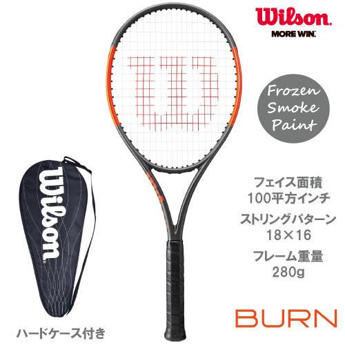 ウイルソン [wilson] 硬式ラケット BURN 100LS(WRT734510)※スマートテニスセンサー対応品