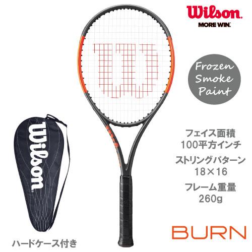 ウイルソン [wilson] 硬式ラケット BURN 100ULS(WRT734610)※スマートテニスセンサー対応品