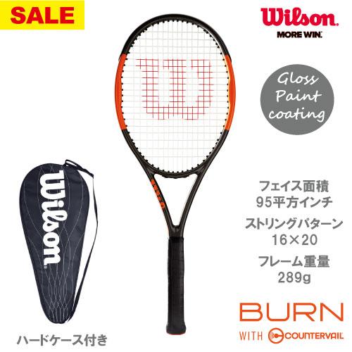 【SALE】ウイルソン[wilson]硬式ラケット BURN 95J COUNTERVAIL(WRT735510)※スマートテニスセンサー対応品