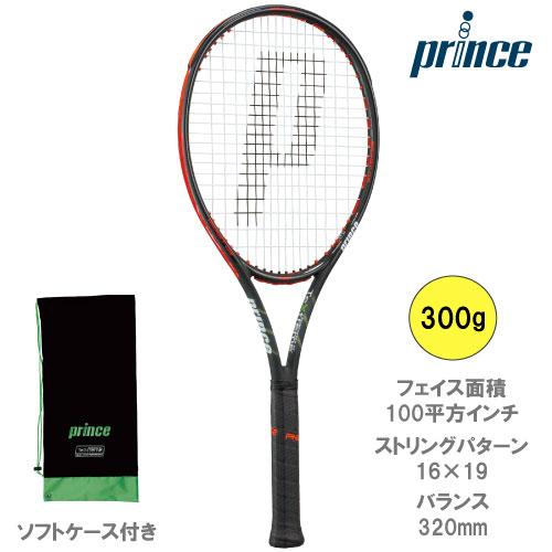 プリンス[prince]ラケット BEAST O3 100 300g(7TJ064)※スマートテニスセンサー対応品