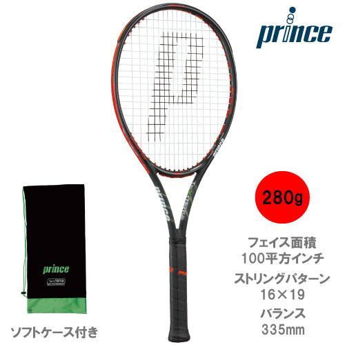 プリンス[prince]ラケット BEAST O3 100 280g(7TJ065)※スマートテニスセンサー対応品