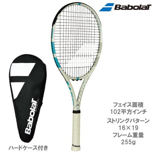 バボラ [Babolat] 硬式ラケット ドライブG ライト(WH/BLカラー)(BF101323)