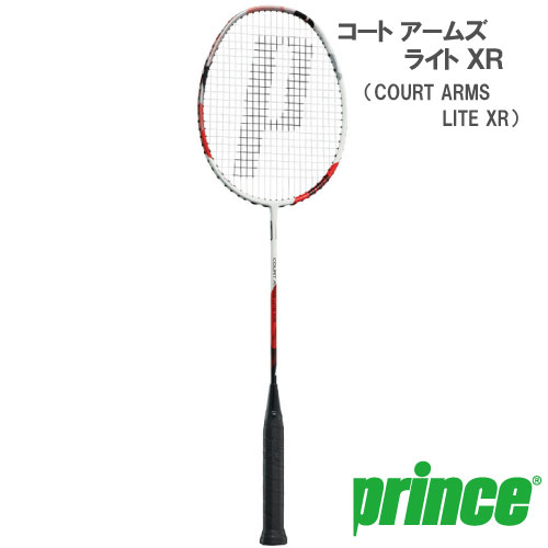 <title>送料無料 張り工賃別 ガット代込 プリンス prince バドミントンラケット COURT ARMS LITE XR 7BJ059 25%OFF</title>