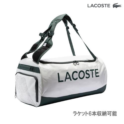 2021年モデル 内祝い 新作 人気 ラコステ Lacoste L20 TLAB001 Rackpack ラケット6本収納可