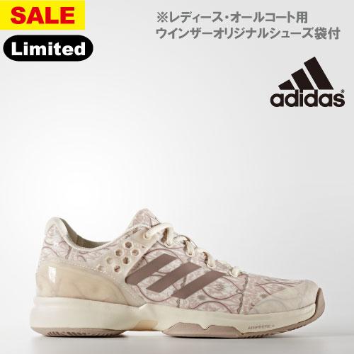 【SALE】アディダス adizero ubersonic 2 W Art Nouv(BB5819)[adidas シューズ レディース]※オールコート用