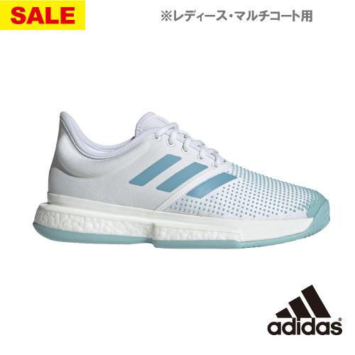 【SALE】アディダス SoleCourt Boost W MC(G26301)[adidas シューズ レディース]※マルチコート用