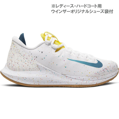 ナイキ コート ウィメンズ エアズームゼロ HC(AA8022-107)[Nike シューズ レディース]※ハードコート用