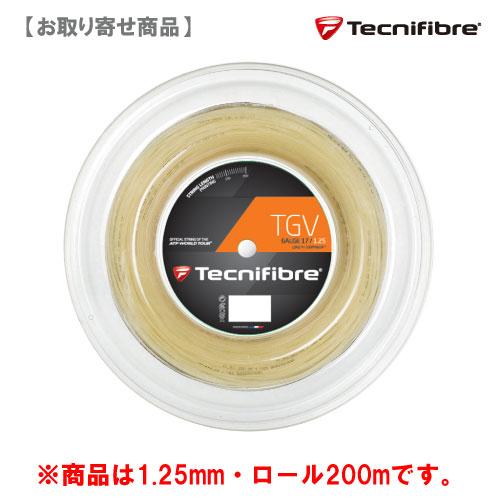 【メーカー取寄せ商品】テクニファイバー [tecnifibre] [tecnifibre] TGV 硬式ストリングロール TGV 125(200mロール), サプリメントハウス:1a1e69b2 --- officewill.xsrv.jp