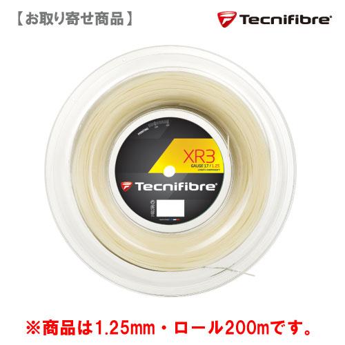 【メーカー取寄せ商品】テクニファイバー [tecnifibre] 硬式ストリングロール XR3 125(200mロール)