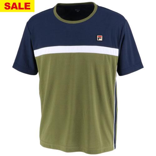 【SALE】フィラ ゲームシャツ(VM5433-24)[FILA MS メンズ]