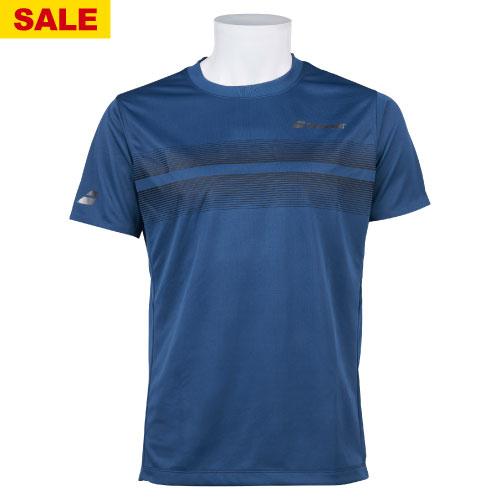 【SALE】バボラ ショートスリーブシャツ(BTUOJA04-NV00)[Babolat MS ユニセックス]