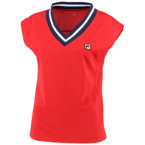 2021年春夏モデル 出荷 フィラ ゲームシャツ VL2288-11 ランキング総合1位 レディース LS FILA