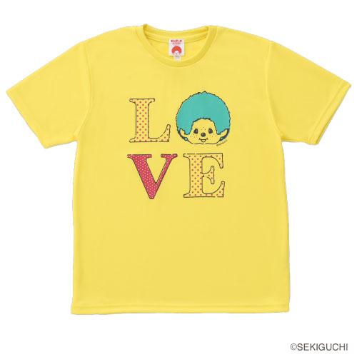 モンチッチスポーツ Tシャツ M0041-YELLOW MONCHIICHI 贈呈 SPORTS ユニセックス 最新号掲載アイテム MS