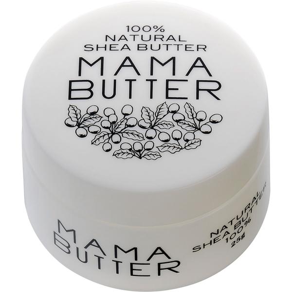 MamaButter ママバター フェイス&ボディクリーム 25g純度100%ママバター全てのお肌に潤いを。 MamaButter ママバター フェイス&ボディクリーム 25g