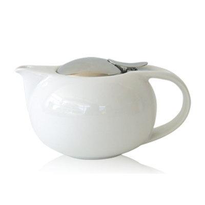 ぷっくりとした丸いボディが可愛い 訳あり商品 世界中で愛される使いやすいティーポット ZERO JAPAN ゼロジャパン サターンティーポットS BBN-17S WH ホワイト急須 日本茶 ポット 卸直営 新茶 きゅうす オシャレ ハーブティ 紅茶 番茶