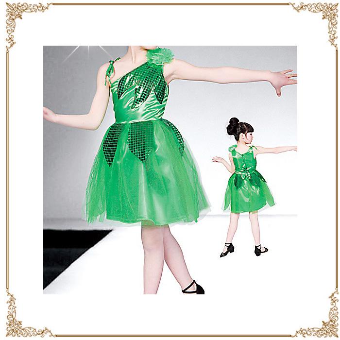 供供瑕疵舞蹈服裝小孩130/140交際舞小孩舞蹈小孩拉丁舞蹈肚皮舞小孩使用的小孩使用的舞台服裝supankorukyabadoresudansuueapatiibento發表會舞台萬聖節舞蹈服裝舞台女人的孩子退貨交換不可能