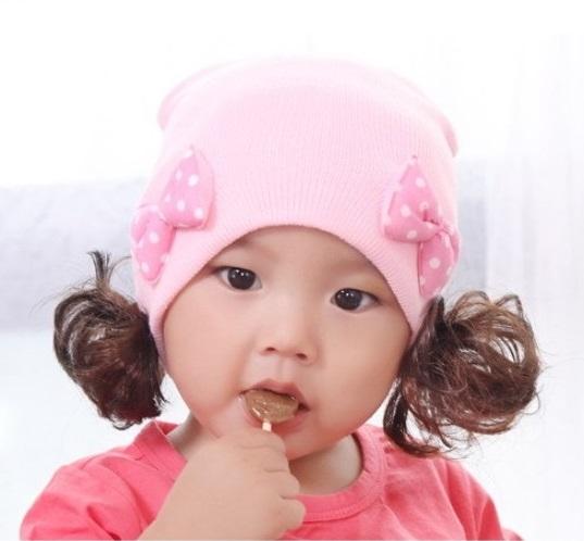 4e1b0ce9 windygirl: Baby Baby Baby knit girls Hat / HAT Cap hats caps CAP Hat ...