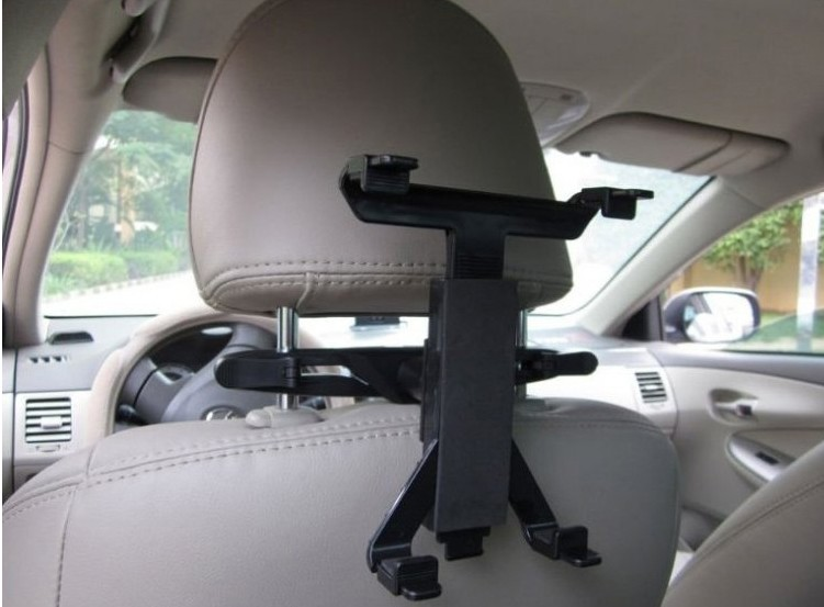 Car vehicle holder rear seat ipad air air2 ipad4 ipad4 mini car loading  holder mounting easy stand Tablet car Mobile stand angle control car  vehicle