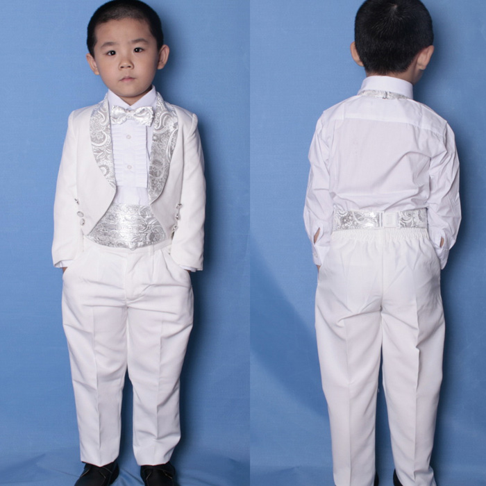 Five Points Of Child Tuxedo Suit Tailcoat Kids In Service
