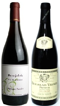 フィリップ・パカレ&ルイジャド・ノンフィルターボージョレヌーヴォー2019飲み比べ2本セット【ボジョレーヌーボー】
