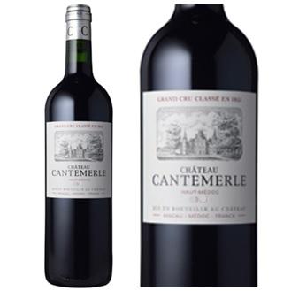 シャトー・カントメルル2013 フランスワイン 産地 ボルドー オーメドック 赤ワイン 直輸入 家飲み お誕生日 ギフト お祝い 750mlChateau Cantemerle 直輸入ボルドー
