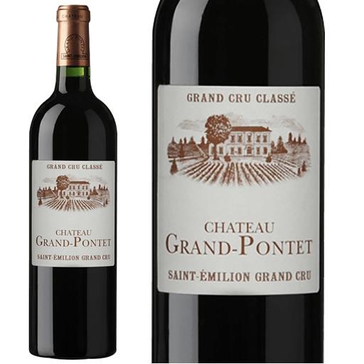 cpシャトー・グラン・ポンテ2012 フランスワイン 産地 サンテミリオン グランクリュ 赤ワイン 家飲み お誕生日 ギフト お祝い 750ml直輸入ボルドー グランポンテ