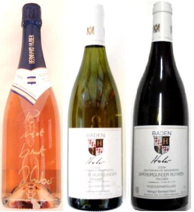 ベルンハルト・フーバーお薦め3本セット・ピノロゼ・ヴァイスブルグンダー ・マルターディンガー・シュペートブルグンダー【ワイン】【ドイツ赤ワイン】【ドイツ白ワイン】【ギフト】【お祝い】【誕生日】ドイツワインセット