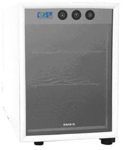 家庭用ワインセラーカヴリナ・ワインセラー 6本入りWR-1606 ブラック