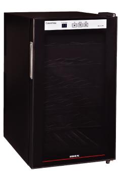 家庭用ワインセラーカヴリナ・ワインセラー 18本入りWR-5018B ブラック