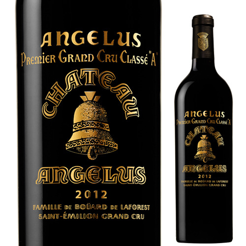 格付昇格記念ボトル P10倍 ギフト シャトー アンジェリュス 2012 9~17まで サンテミリオン ボルドー P期間:1 赤 高品質