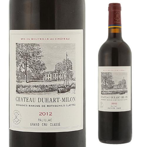 シャトー デュアール ミロン ロートシルト 2012格付4級 ボルドー 赤ワイン